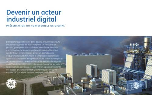 usine 4.0 digitalisation industrie